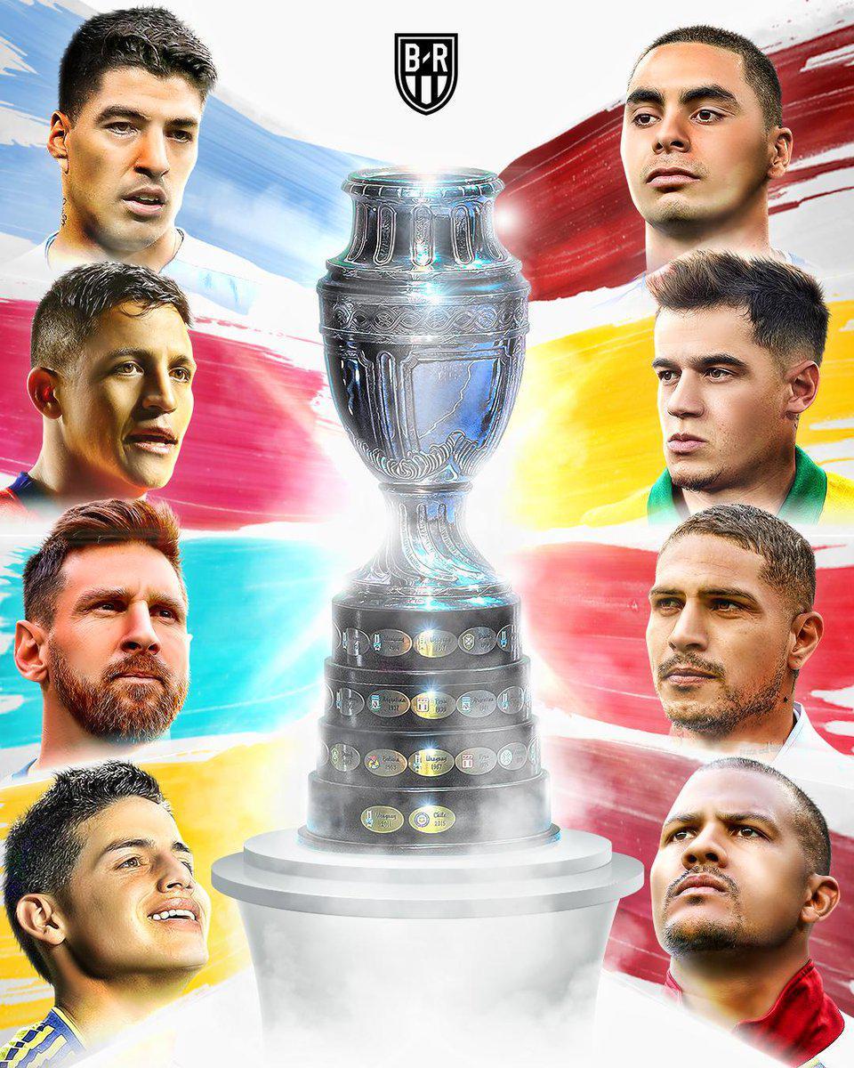 美洲杯八强对阵:巴西战巴拉圭 阿根廷战委内瑞拉