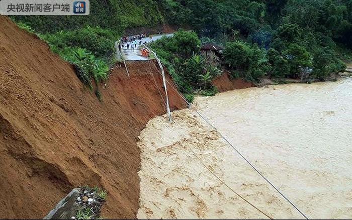 越南北部山洪已致1人死亡4人失踪