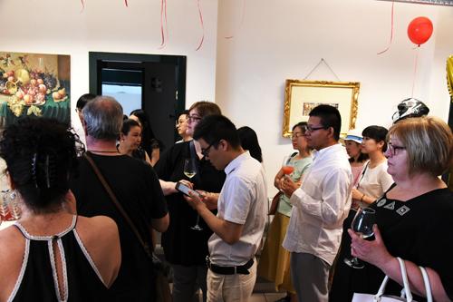 意大利意所艺术画廊挂牌 同期举办樊岳作品展