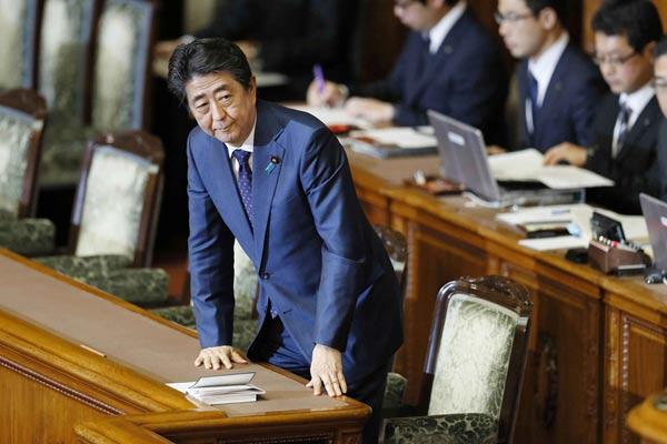 日本在野5党派提交内阁不信任案 被众院否决