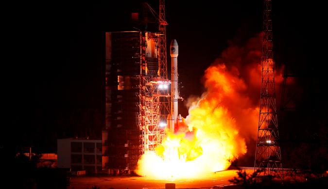 中国第四十六颗北斗导航卫星在西昌成功发射