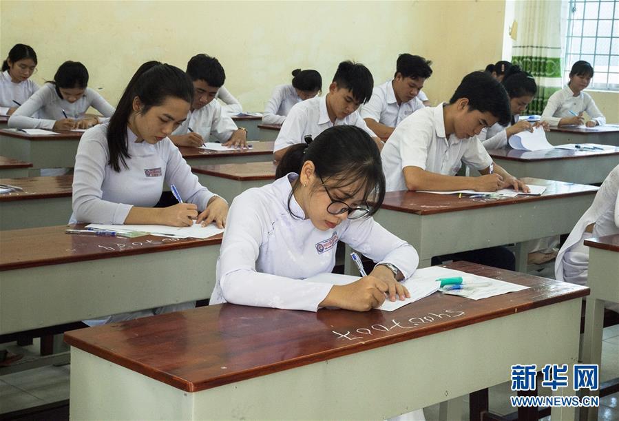 越南高考拉开帷幕:近88万考生参加考试