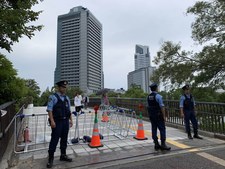 "G20峰会前夕大阪""陆海空""全面警备"