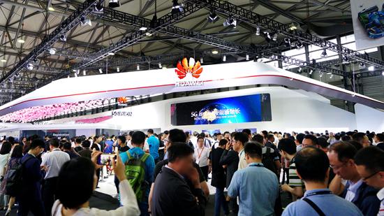 MWC19上海,华为助力全球运营商领跑5G新时代