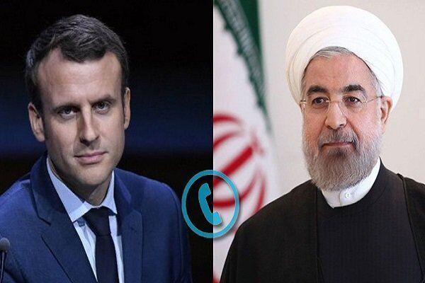 鲁哈尼与马克龙通话:伊朗
