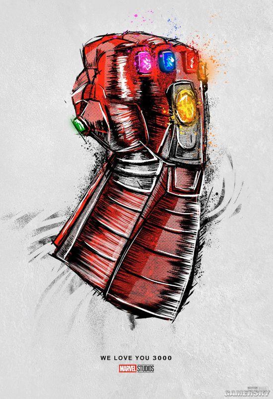 《复联4》重映版首曝海报!钢铁侠绿巨人合体