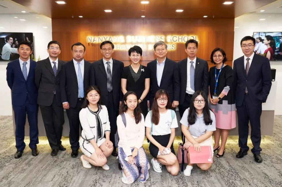 经济学院,孙祁祥,教授,代表团,新加坡,北大,