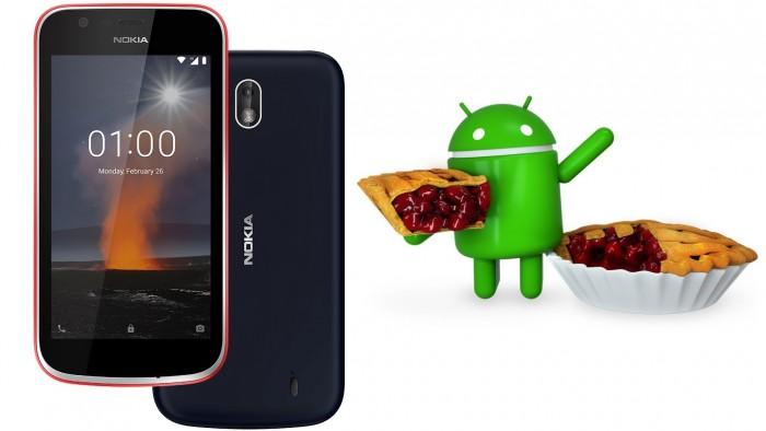 诺基亚亲民手机Nokia 1现升级Android Pie