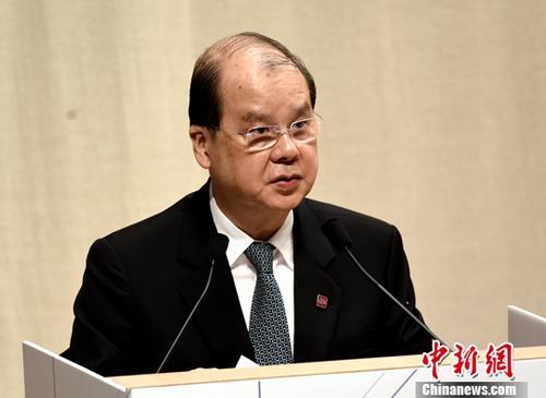 """香港政务司长:努力栽培创新科技""""接班人"""""""