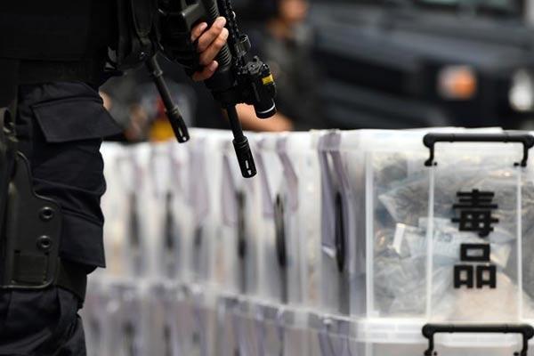 天津举行集中销毁毒品活动