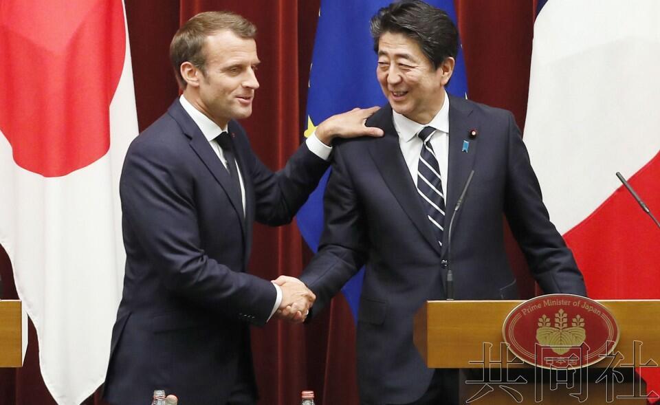 日法首脑举行会谈,就推进海洋安保合作达成一致