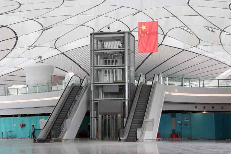 大兴机场330台电梯设备完成安装调试
