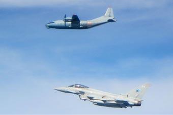 一天兩次出動 英臺風戰機攔截俄軍飛機