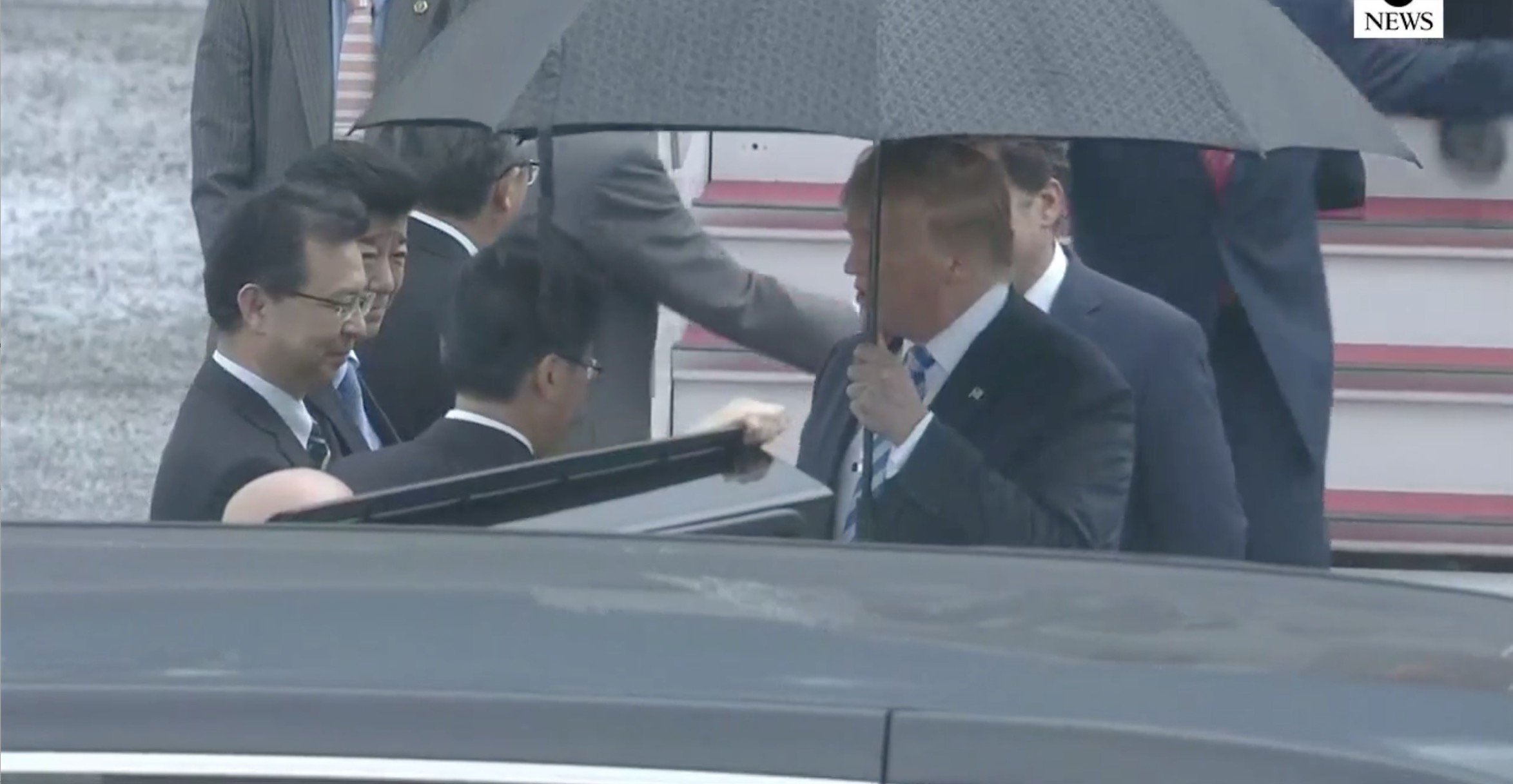 快讯!特朗普刚刚抵达日本大阪,将出席G20峰会