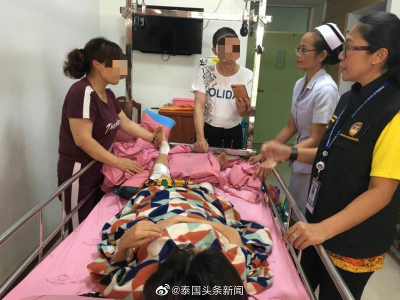 泰国坠崖孕妇被要求出院 欲回国治疗面临转运难题