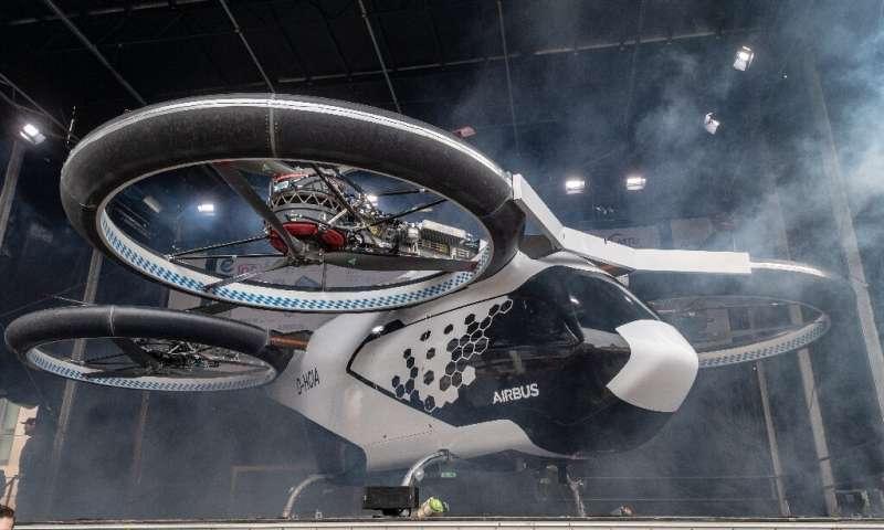 巴黎拟2024年奥运会推空中出租车 从机场飞到赛场