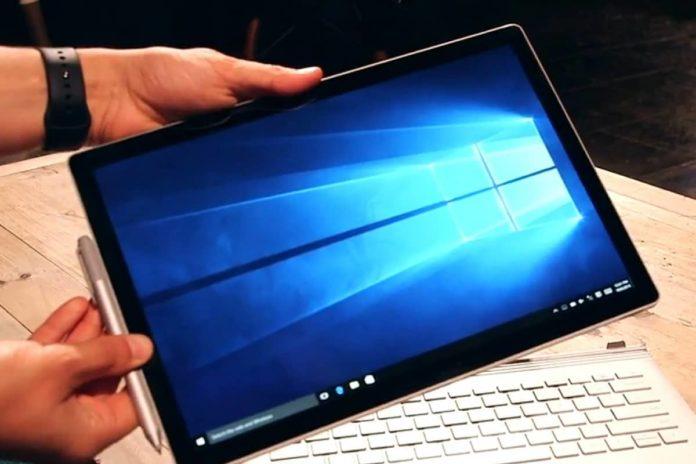 微软未来的Surface Book可能具有更好的可拆卸机制