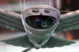 俄罗斯新型无人机亮相 外形酷似雪鸮