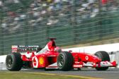 舒马赫2002年夺冠座驾将被拍卖