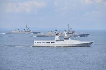 日準航母在馬六甲逗留 邀文萊海軍聯合演習