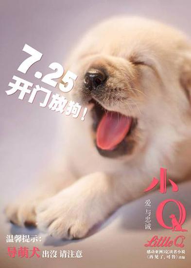 《小Q》提档7月25日 暑期第一催泪弹提前引爆