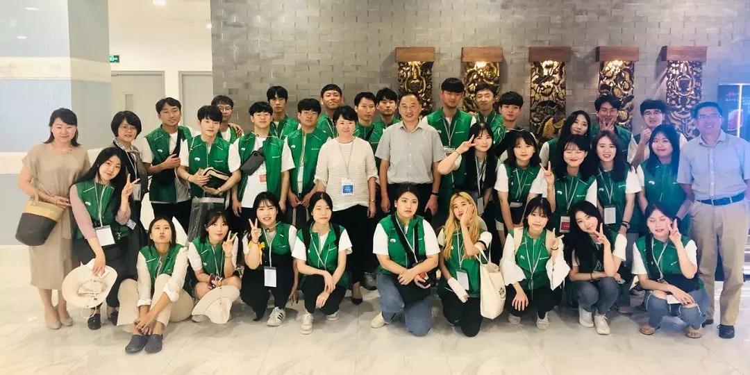绿色环保不分国界——韩国釜山青年绿色环保代表团来京交流