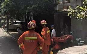 杭州小区现1米大蛇 曾钻进居民家里