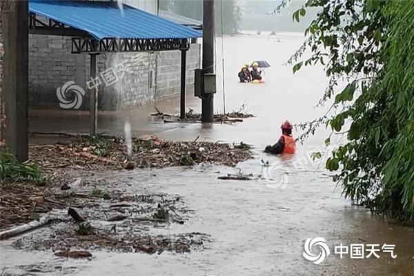 【6省市】局地大暴雨来袭 华北黄淮暑热暂缓