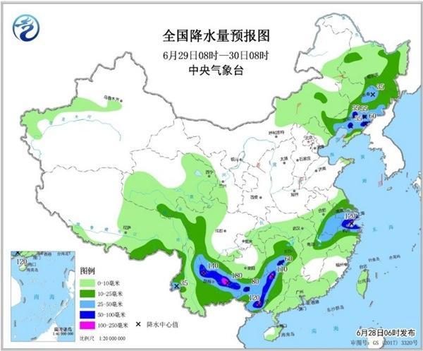 9省市局地大暴雨来袭 华北黄淮暑热暂缓