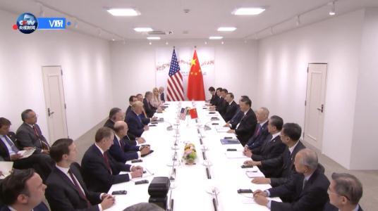 中美元首举行会晤