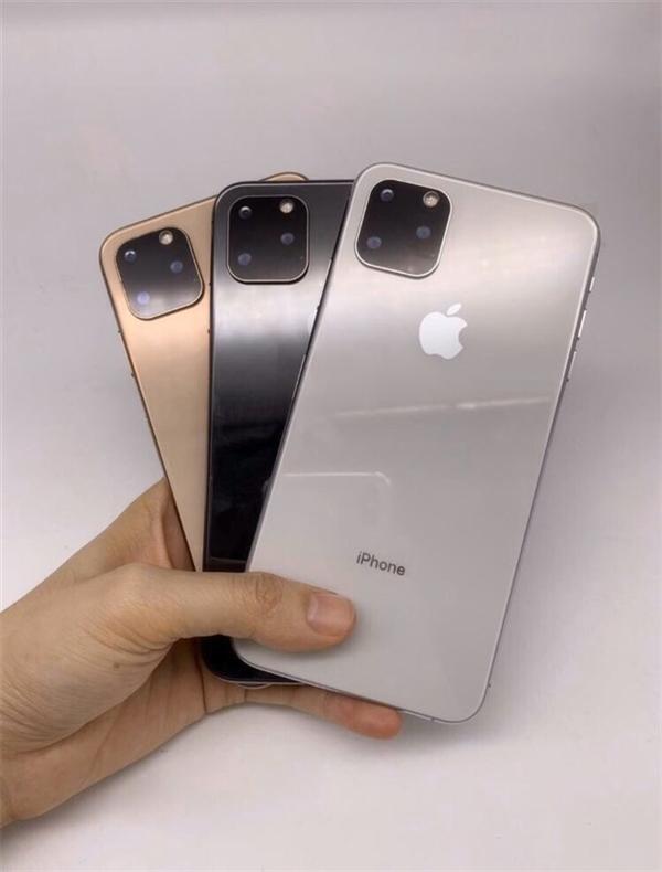 iPhone 11机模曝光:这外形应该没跑了!