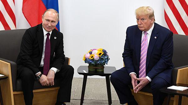 """与普京会晤次日,特朗普称普京是个""""优秀的人"""""""