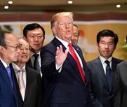 特朗普见三星等韩企掌门
