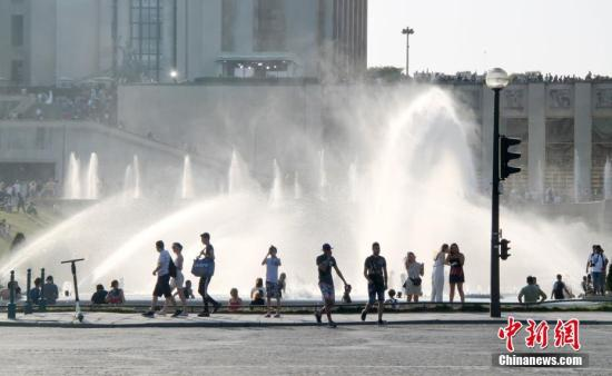 """""""致命""""熱浪席卷歐洲致至少8死 將有望迎來降溫"""