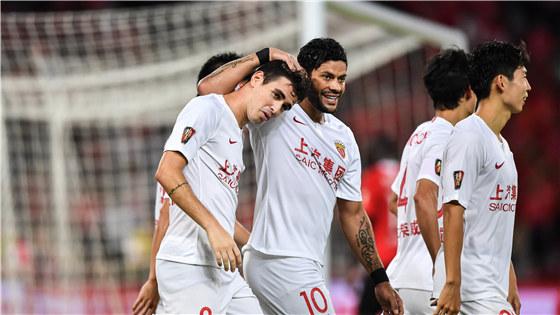 中超第15轮:深圳0-1上港
