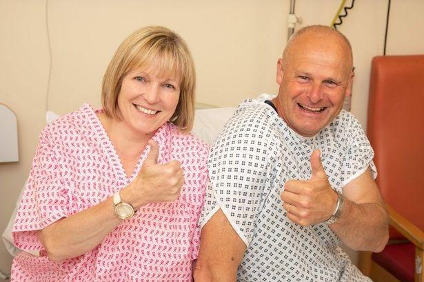 英国一女子肾功能衰竭 获丈夫捐赠肾脏