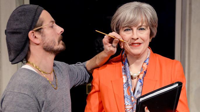 """还没卸任,""""特雷莎·梅""""要被伦敦蜡像馆""""藏""""起来了"""