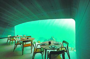 环游 | 挪威海底餐厅,零距离接触海洋