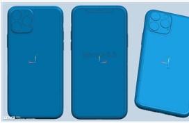三款iPhone XI系列新机CAD渲染图曝光