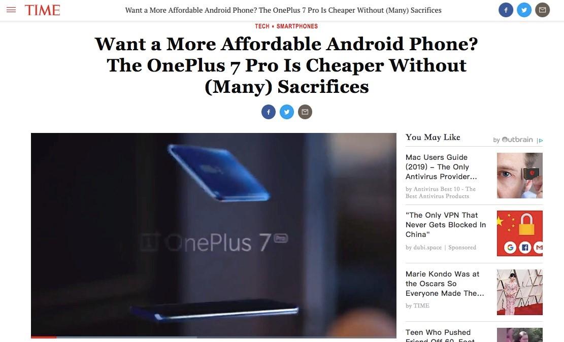 众权威外媒竟集体这样评价这款手机