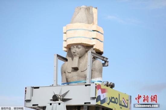 古埃及法老雕像将在伦敦拍卖 埃及当局呼吁归还