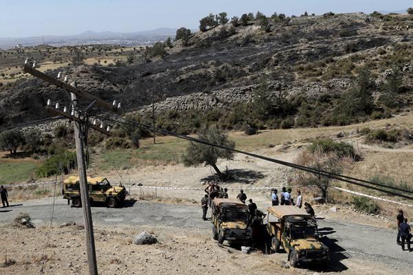 塞浦路斯北部遭遇导弹袭击