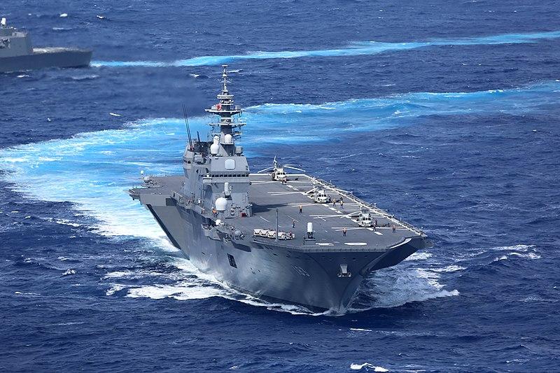 出云号准航母停靠菲律宾 日媒:意在制衡中国