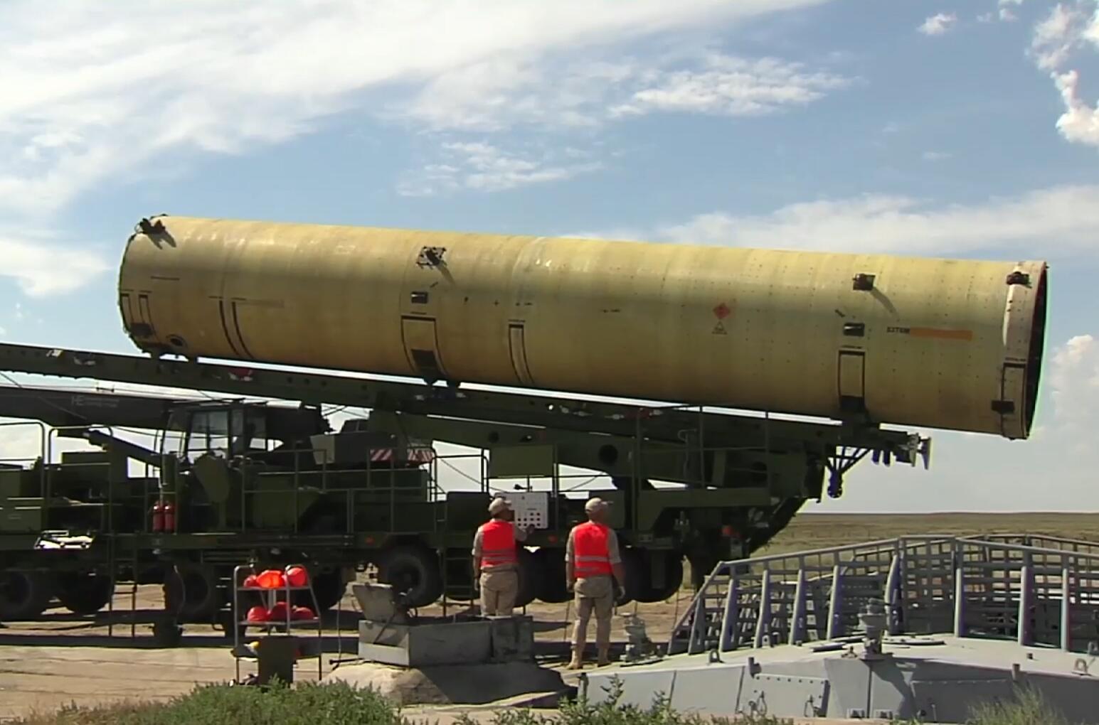 一个月内两次!俄军再次试射新型反导拦截弹