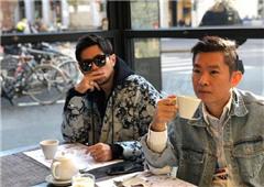 周杰伦喝咖啡找灵感