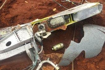 印度空軍接連出事 LCA戰機油箱墜落