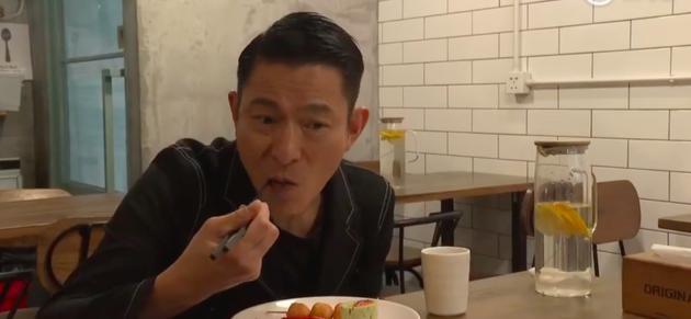刘德华自曝坚持素食六年 只因妻子女儿爱吃