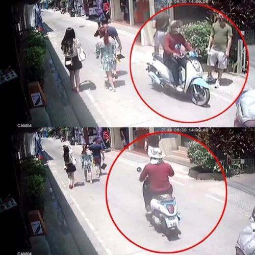 监控录像(来源:泰国《世界日报》)