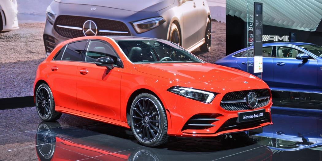 奔驰推出A级插电式混动车型A250e 搭载15kWh的电池组
