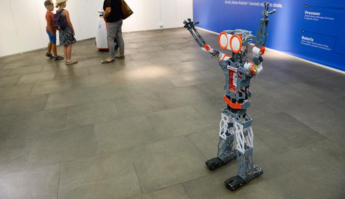 """""""机器人之城""""展览在波兰罗兹举行 这些机器人有点萌"""